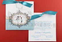 Προσκλητήρια Γάμου - Wedding Invitations / Προσκλητήρια γάμου και φάκελοι φτιαγμένα με αγάπη και υψηλής ποιότητας ειδικά χαρτιά -   Elegant wedding invitations and folders made with love and high quality special papers