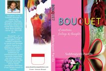 Bouquet-of emotions, feelings and thoughts..... / Cover design and promotion posters of my upcoming maiden book titled as Bouquet-of emotions, feelings and thoughts.....