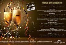 Festività - Natale 2014 - Capodanno 2015 / by Relais Villa San Martino