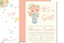 FYP | Baby Shower Invitations / by Forever Your Prints