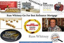 Russ Whitney-Go For Best Refinance Mortgage / The refinance are the fastest simplest way for FHA insured homeowners to refinance their mortgage rates.