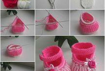 knitting baby stuff