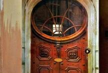 Drzwi / interesujące drzwi