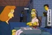 Simpsons humor