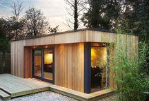 a.wood house