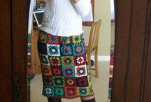Jupes crochet