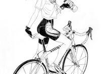 오토바이, 자전거