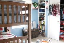 Boys Bedroom Ideas / Inspiration for a boy's bedroom decor.