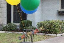 Adler's Birthday Party Inspirtation