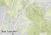 Bad Salzuflen / Wanderungen, Natur in und um die Stadt herum