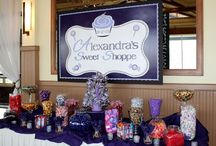 Shop till you drop!  / Ariel's shopping themed Bat Mitzvah
