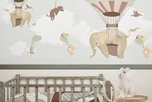 Lastenhuoneen seinä