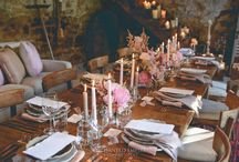 Romantic French Provincial Engagement / In a beautiful historic barn in rural Tasmania, this engagement had all the details of a French Provincial romance. Rustic wooden tables with cascading centerpieces of striking soft pink peonies and roses, with elegant grey  and soft pink tapered candles to bring through an elegant feel. Stunning menus and placecards , printed on artisan handmade stock, to capture the rich textures of provincial aesthetic. Custom signage tied together this event perfectly.  You Tube: https://youtu.be/gVTXLvpmh8Q