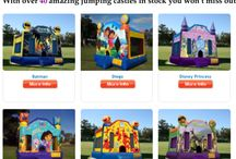2015 super specials / Brand new super specials for 2015 on our kids castles