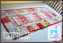 Tablerunners, Placemats, Hotpads and Kitchen Stuff to Make / by Cheri Barnett