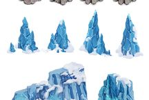 Горы, камни