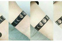 Татуировки луны
