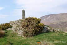 Ireland's History in Stone / Many monuments from the early stone-age to the present day dot the Irish landscape.  In their own way they literally write Ireland's history in stone.