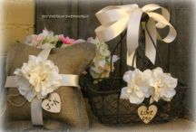 Burlap Ideas / by Lisa Weiland