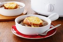 Soups and Stews / Nothings says comfort like a warm bowl of soup or stew. Cozy up to these recipes and serve up bowls of delicious soup for the soul. / by what's cooking - Kraft Canada