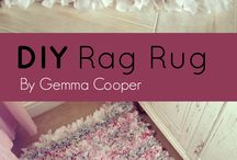 home made rugs