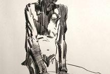 gesture/life drawings