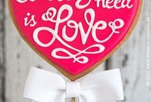 Galletas San Valentin