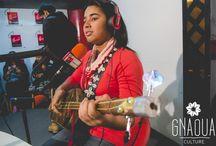 Asmâa Hamzaoui & Bnat Timbouktou / Moroccan Young Artist Asmâa Hamzaoui & his band BNAT TIMBOUKTOU on air at Chada FM