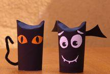Halloween papietagem / papermache