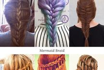 Hair Inspiration / Hair, hairstyle tutorials, hair colors, hair treatment, hair routine