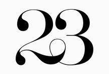23 number tattoo