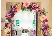 Craft ideas - backdrop