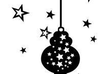 Raamstickers Kerst / Statisch hechtende raamstickers speciaal voor de Kerstdagen
