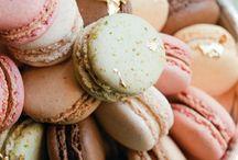 macaron, meringue