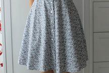 Long simple dress