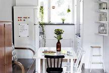 Keittiöunelmia / Kitchens