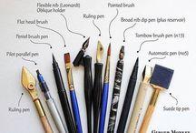 Penne calligrafiche