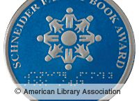 Schneider Family Book Award Medal / The award is donated by Dr. Katherine Schneider, and honors an author or illustrator for a book that embodies an artistic expression of the disability experience for child and adolescent audiences.   http://www.ala.org/news/mediapresscenter/presskits/youthmediaawards/schneiderfamilybookaward