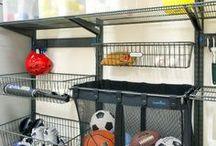 Equipment Storage Ideas