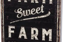 Farm signs... / Fun and clever, such pretty lettering...what talent!