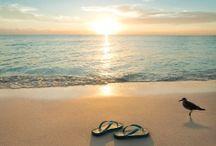 Zee en strand.