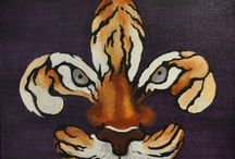 LSU love.... / by Vickey Vicknair
