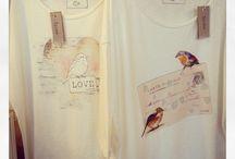 Tyche / T-shirt stampate da me e Sarah Casadio.