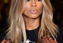 Hair colour for brown skin