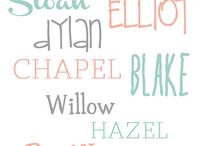 Baby Names / by Allison Cearley Gordon