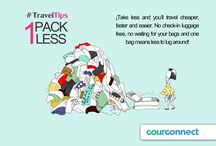 CourConnect Travel Tips / Find useful advises for traveling around the world.