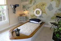 Boy Rooms: inspired by nautical things