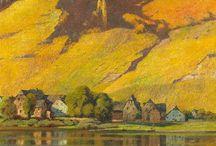 Peinture : paysages
