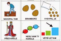 Slovní zásoaba - Kreslené říkanky