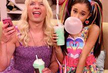Ew! / Jimmy Fallon and Ariana Grande. During: Ew!